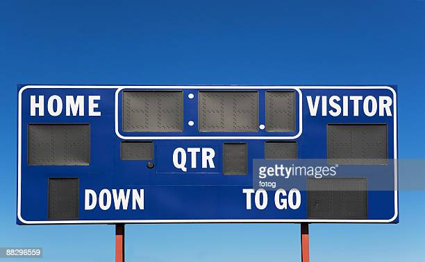 sports scoreboard - scoreboard stock pictures, royalty-free photos & images