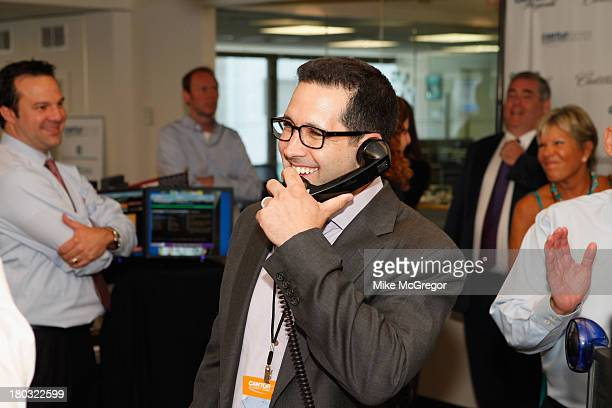 Sports writer Adam Schefter attends the Annual Charity Day Hosted By Cantor Fitzgerald And BGC at the Cantor Fitzgerald Office on September 11 2013...