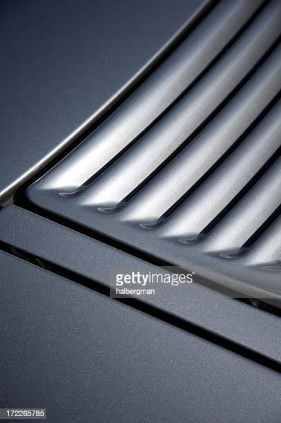 Sportscar Rear Vent