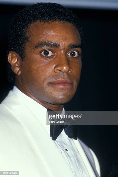 Sportscaster Ahmad Rashad attending Creative Excellence In Business Advertising on October 15 1987 at the New York Hilton Hotel in New York City New...