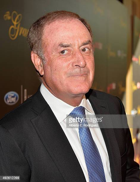 Sportscaster Al Michaels arrives to the 39th Gracie Awards Gala at The Beverly Hilton Hotel on May 20 2014 in Beverly Hills California