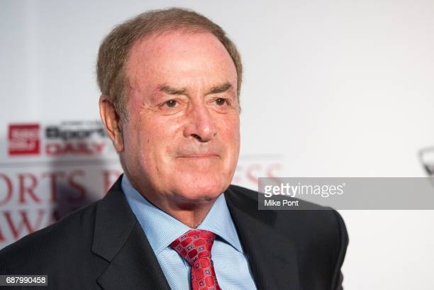 Sportscaster Al Michaels attends the 10th Annual Sports Business Awards at The New York Marriott Marquis on May 24 2017 in New York City
