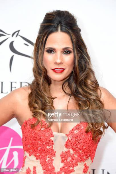 Sportscaster BonnieJill Laflin attends the Unbridled Eve Gala during the 144th Kentucky Derby at Galt House Hotel Suites on May 4 2018 in Louisville...