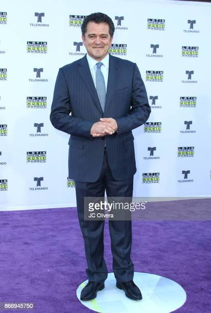 Sportscaster Carlos Hermosillo attends The 2017 Latin American Music Awards at Dolby Theatre on October 26 2017 in Hollywood California