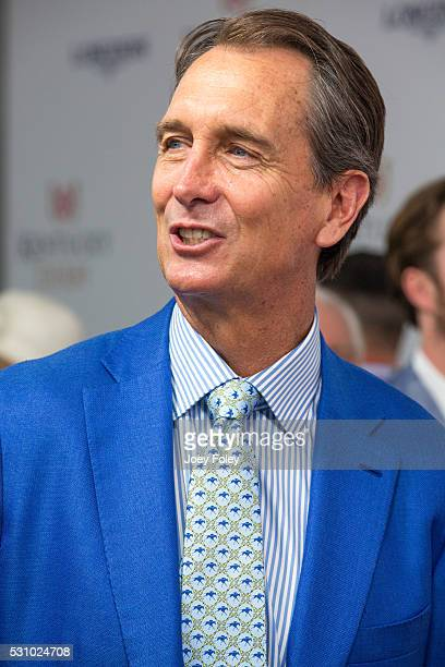 NBC sportscaster Cris Collinsworth attends the 142nd Kentucky Derby at Churchill Downs on May 07 2016 in Louisville Kentucky