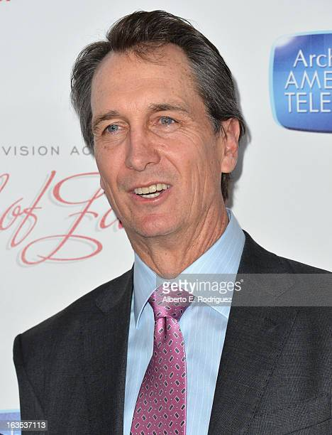 Sportscaster Cris Collinsworth attends the Academy of Television Arts Sciences' 22nd Annual Hall of Fame Induction Gala at The Beverly Hilton Hotel...