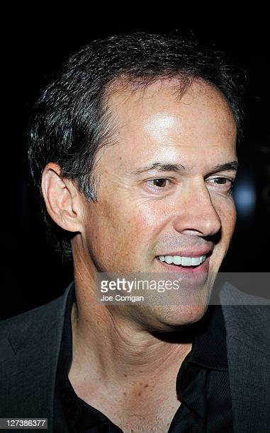 Sportscaster Dan Hicks attends the Hannah Storm Foundation celebrity fundraiser at Stone Rose Lounge on September 27 2011 in New York City