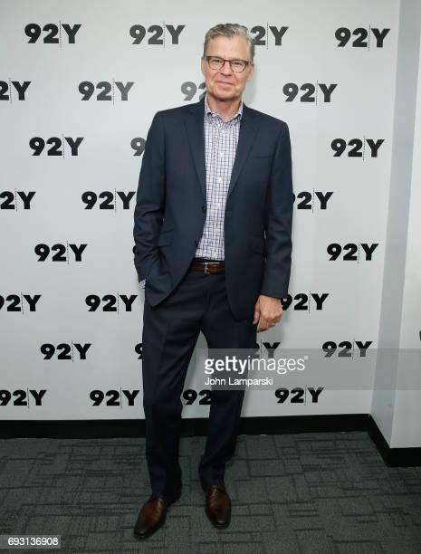 Sportscaster Dan Patrick attend s92Y Talks Brockmire at Kaufman Concert Hall on June 6 2017 in New York City