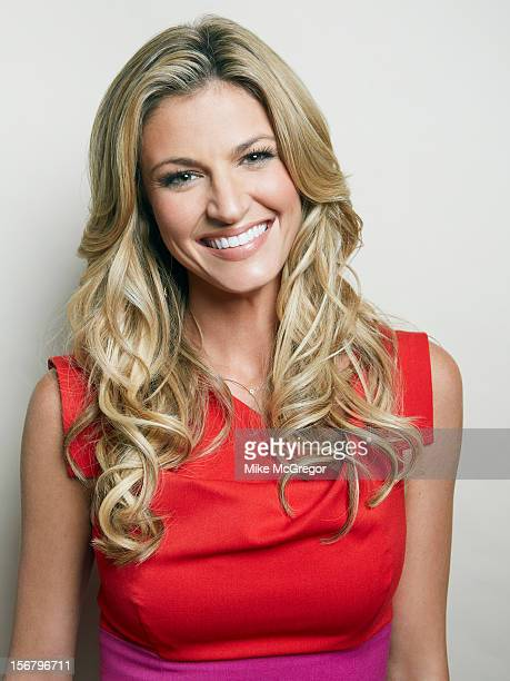 Sportscaster Erin Andrews is photographed for Self Assignment on September 11 2012 in New York City