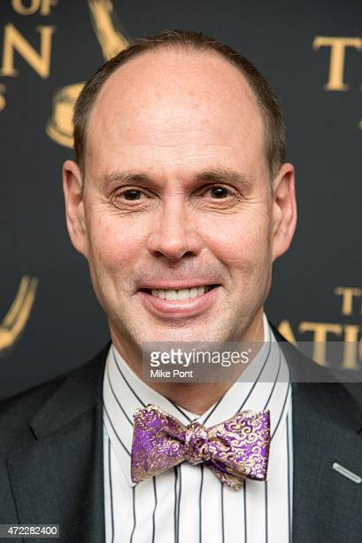 Sportscaster Ernie Johnson attends the 2015 Sports Emmy Awards at Jazz at Lincoln Center on May 5 2015 in New York City