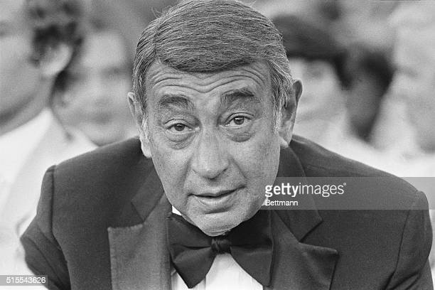 Sportscaster Howard Cosell is shown during a dinner celebrating the 20th anniversary of ABCTV's Wide World of Sports The affair was held at the...