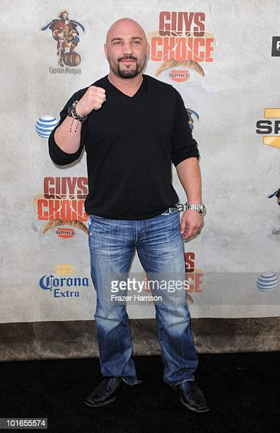 Sportscaster Jay Glazer arrives at Spike TV's 4th Annual Guys Choice Awards held at Sony Studios on June 5 2010 in Los Angeles California