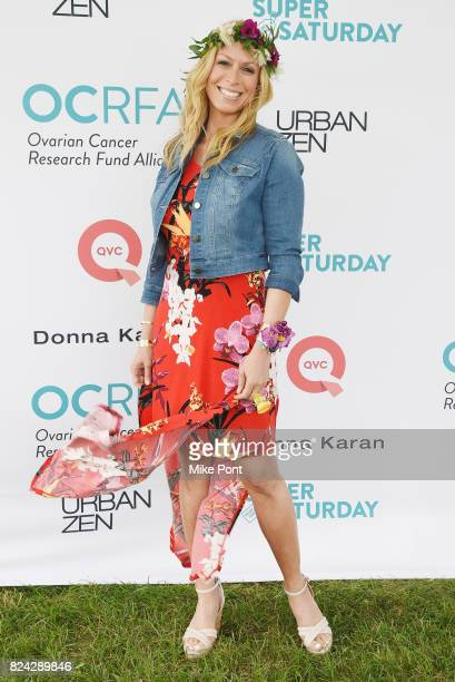 Sportscaster Jill Martin attends OCRFA's 20th Annual Super Saturday to Benefit Ovarian Cancer on July 29 2017 in Watermill New York