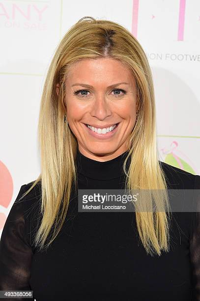 Sportscaster Jill Martin attends QVC presents FFANY Shoes on Sale on October 19 2015 at the Waldorf Astoria Hotel in New York City