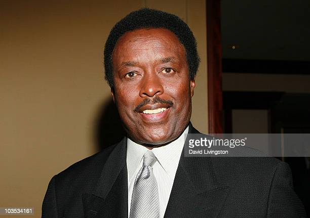 Sportscaster Jim Hill attends the Eagle Badge Foundation Gala Honors at the Hyatt Regency Century Plaza on August 21 2010 in Century City California