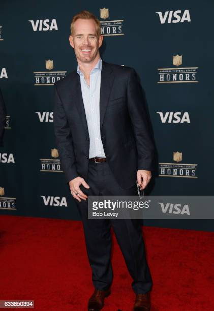 Sportscaster Joe Buck attends 6th Annual NFL Honors at Wortham Theater Center on February 4 2017 in Houston Texas