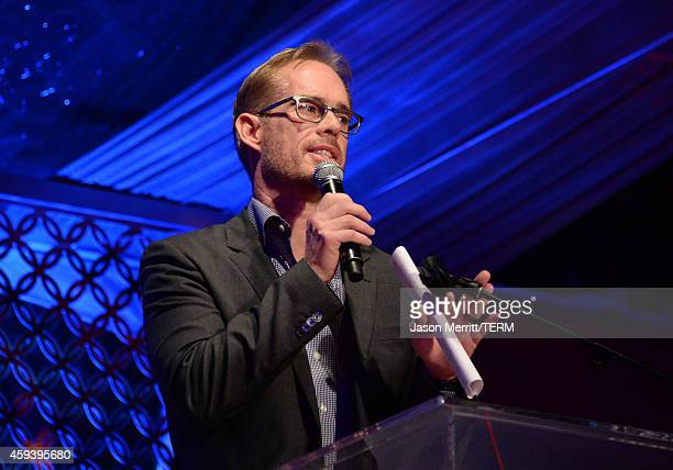 Sportscaster Joe Buck attends Goldie Hawn's inaugural Love In For Kids benefiting the Hawn Foundation's MindUp program transforming children's lives...