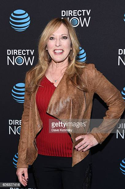 Sportscaster Linda Cohn attends ATT's celebration of the Launch of DIRECTV NOW at Venue 57 on November 28 2016 in New York City