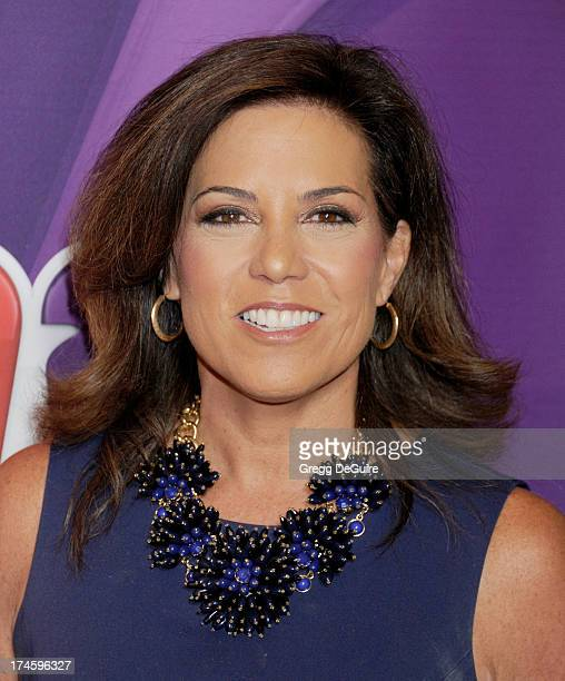 'BEVERLY HILLS CA JULY 27 Sportscaster Michele Tafoya arrives at the 2013 NBC Television Critics Association's Summer Press Tour at The Beverly...