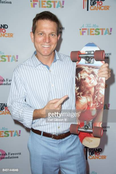 Sportscaster Patrick O'Neal attends the Farrah Fawcett Foundation's 'TexMex Fiesta' Honoring Stand Up To Cancer at Wallis Annenberg Center for the...
