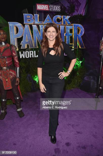 Sportscaster Rachel Nichols at the Los Angeles World Premiere of Marvel Studios' BLACK PANTHER at Dolby Theatre on January 29 2018 in Hollywood...