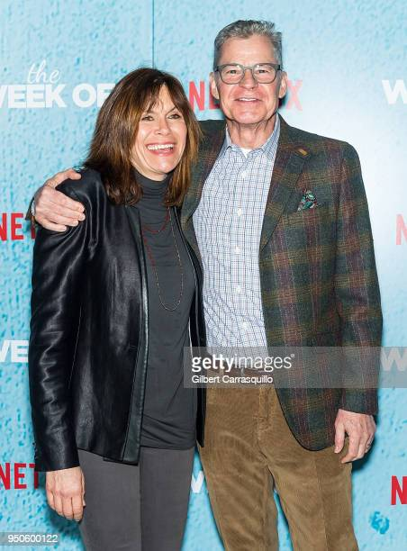 Sportscaster radio personality and actor attends Dan Patrick 'The Week Of' New York Premiere at AMC Loews Lincoln Square on April 23 2018 in New York...