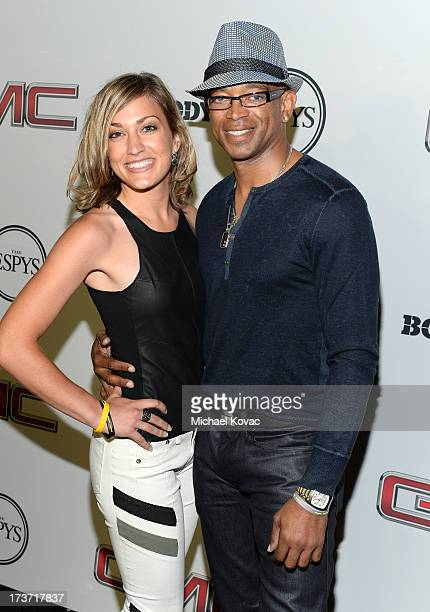 Sportscaster Stuart Scott attends ESPN The Magazine 5th annual Body Issue party at Lure on July 16 2013 in Hollywood California