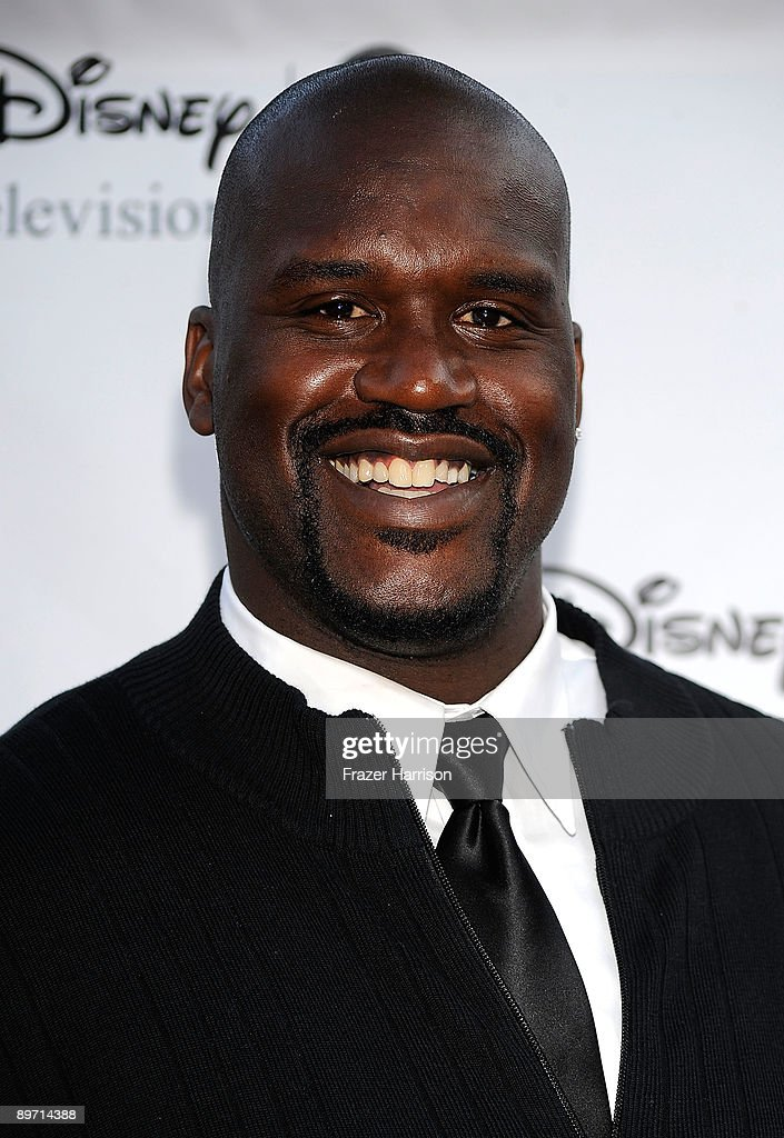 Sportsmans Shaquille O'Neal arrives at Disney-ABC Television Group Summer Press Tour Party at The Langham Hotel on August 8, 2009 in Pasadena, California.
