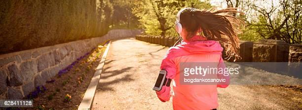 スポーツウーマン ジョギングコース