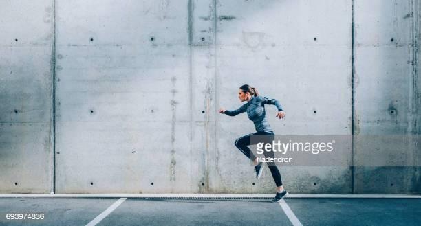 Sportvrouw