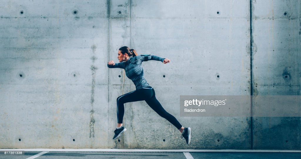 Sportswoman : Stock Photo