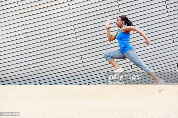 sportswoman running