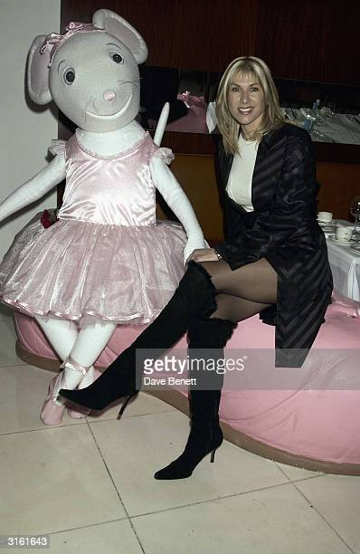 Sportswoman Sharron Davies at the Angelina Ballerina Nutcracker gala preparty on December 3rd 2002 at the St Martins hotel in London where the kids...