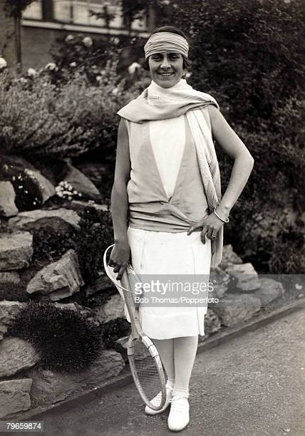 Sport/Tennis circa 1930 Lili de Alvarez Spain who was Wimbledon Ladies Singles finalist 3 times in the years 1926 1927 and 1928 but lost on each...
