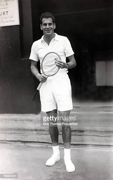 Sport/Tennis circa 1950 Dick Savitt USA who was the 1951 Wimbledon Lawn Tennis Mens Singles Champion