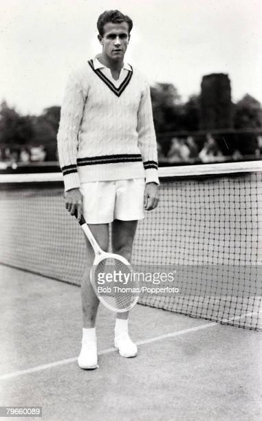 Sport/Tennis circa 1950 Ken McGregor Australia who with fellow Australian Frank Sedgman made the only male Doubles Grand Slam in 1951