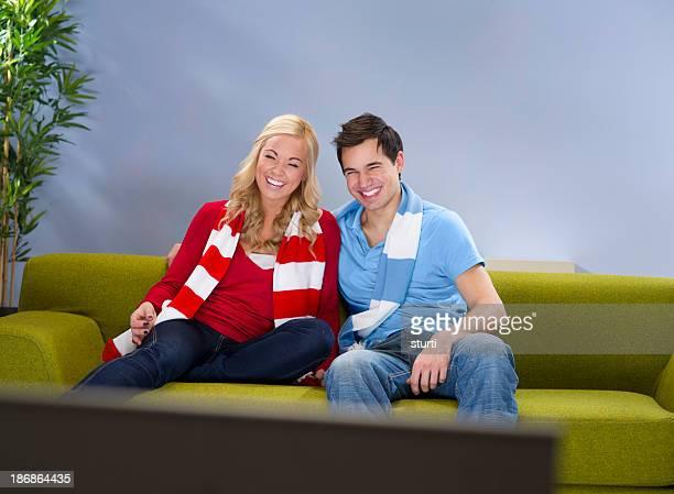 sporty couple