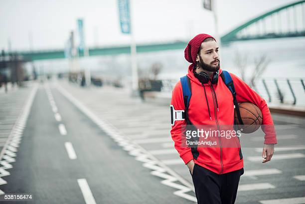sporty young man