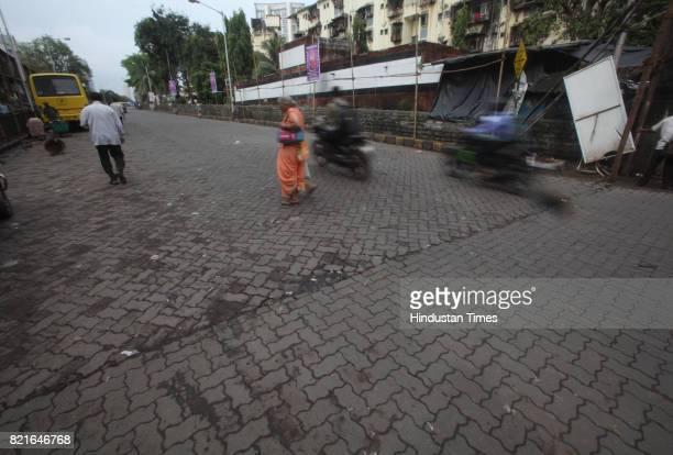 Spot of Accident at Chicpokli on Ganpati immersion day in Mumbai