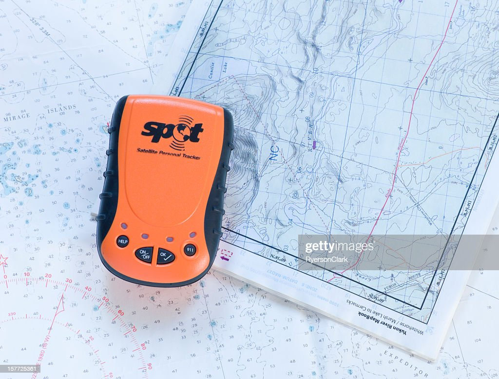 spot satellite personal tracker stock photo getty images