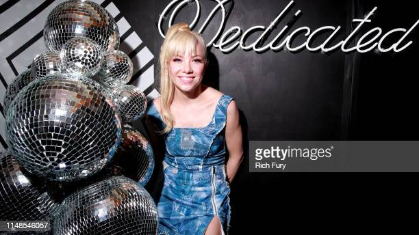 Spotify and Carly Rae Jepsen celebrate her upcoming album Dedicated with her biggest fans on May 11 2019 in Marina del Rey California