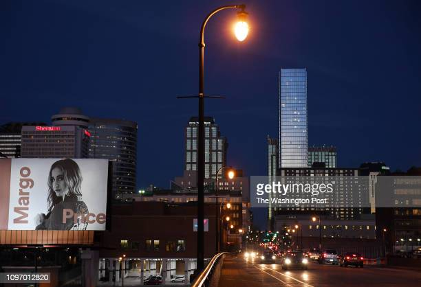Spotify billboard featuring Margo Price is seen on Friday January 25 2019 in Nashville TN Price received a Grammy nomination for Best New Artist