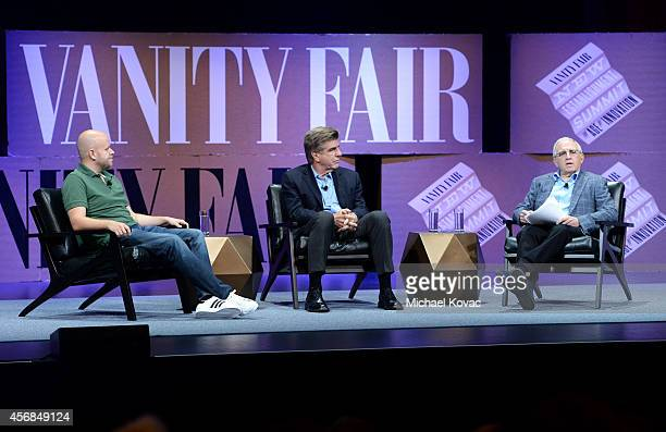 "Spotify Founder and CEO Daniel Ek Media Executive Tom Freston Azoff MSG Entertainment LLC Chairman and CEO Irving Azoff speaks onstage during ""You..."