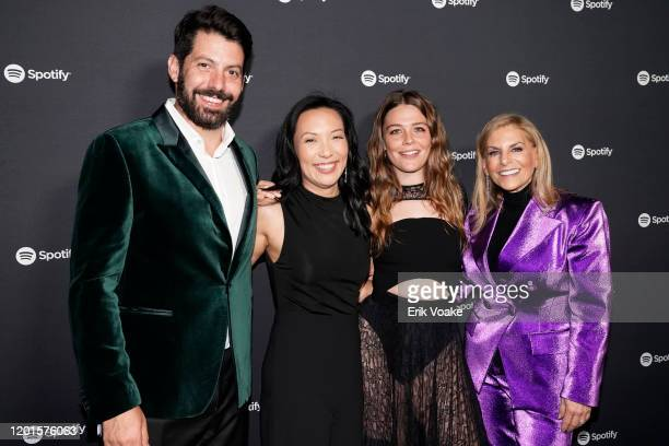 Spotify Head of Music Strategy Jeremy Erlich Spotify VP of Global Head of Artist Label Services Marian Dicus Maggie Rogers and Chief Content Officer...