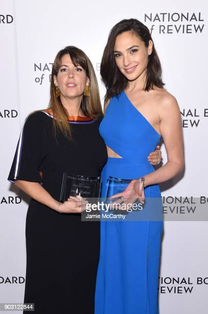 Spotlight Award Winners Patty Jenkins and Gal Gadot attend the National Board of Review Annual Awards Gala at Cipriani 42nd Street on January 9 2018...