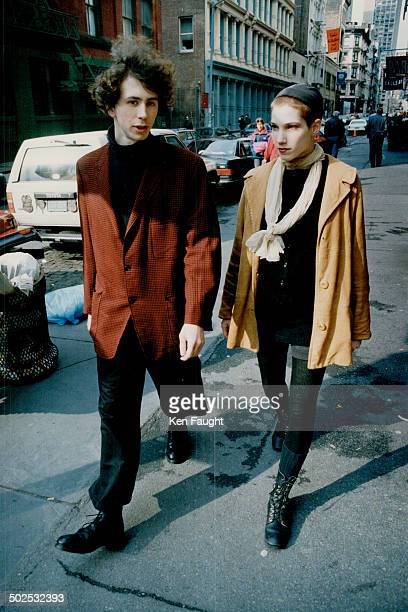 Spotted in Soho clockwise from above UPI reporter Denise Barricklow and Vogue features editor James Truman artist Pamela Moulton former Taxi fashion...