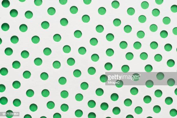 Spotted Pattern Paper Art