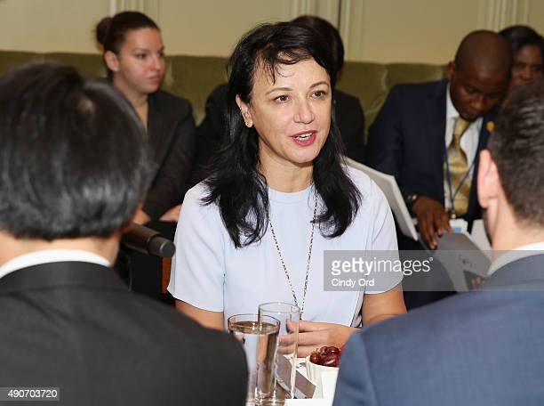 Spouse of the Prime Minister of Albania H.E. Linda Rama attends Autism Speaks' World Focus on Autism on September 30, 2015 in New York City.