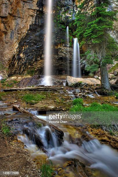 Spouting Rock Waterfalls
