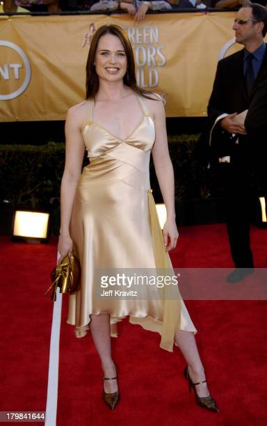 Sprague Grayden during 2005 Screen Actors Guild Awards Arrivals at The Shrine in Los Angeles California United States